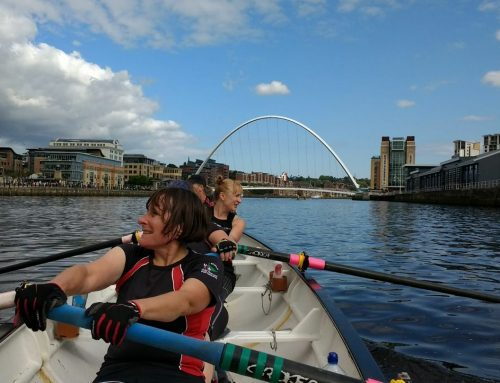 The Great Tyne Row #slogonthetyne
